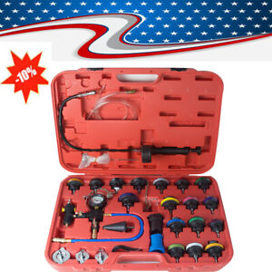 27xradiator Pressure Tester Car Cooling System Water Tank Leakage Automotive Use