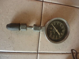 Vintage Unbranded 0 300 Psi Automotive Compression Tester