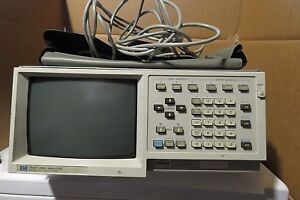 Hp Agilent 1630d Logic Analyzer And With 5 Pods And Pouch
