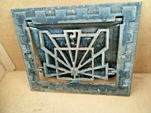 Heat Air Grate Wall Register 10 X 8 Wall Opening Vintage Works Art Deco