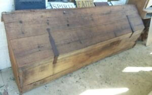 Antique 1840s Grain Bin Blanket Chest Country General Store