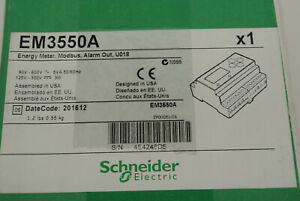Brand New In Box Schneider Electric Em3550a Powerlogic Energy Meter Alarm Out
