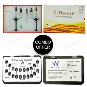 Buy 50 Waldent Metal Bracket Kit Get 1 Free Anabond Orthofix Adhesive Kit