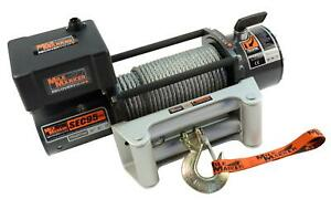 Mile Marker 76 50246bw Winch Electric 9500 Lbs Planetary Roller Fairlead 12 V 1