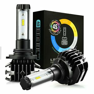 2x 9006 hb4 Led Headlight Bulbs Conversion Kit 8000lm 6500k White blue yellow