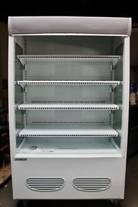 Refrigerated Open Display Merchandiser Grab Go Commercial Refrigerator