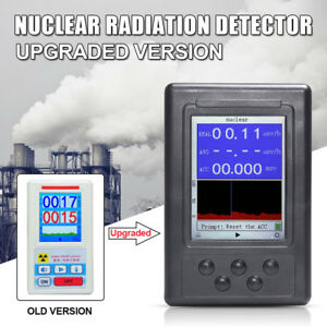 Geiger Counter Nuclear Radiation Detector Personal Dosimeter Marble Tester