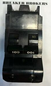 Federal Pacific Fpe Breaker 2 Pole 100 Amp 240v Nb Bolt On Free Priority Today