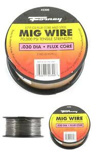 Forney 42300 Flux Core Mig Wire Mild Steel E71tgs 030 diameter 2 pound Spool