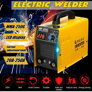220v Mma 250g Electric Igbt Welder Inverter Mma arc Welding Soldering Machine
