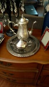 Antique Sterling Silver Tea Coffee Set