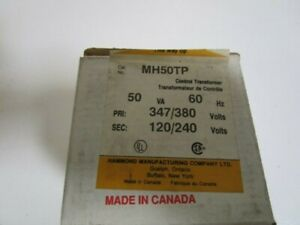 Hammond Transformer Mh50tp new In Box