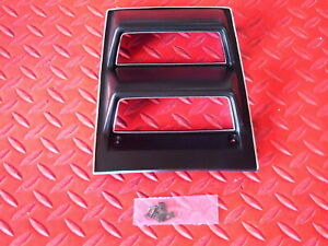 1968 1969 Camaro 1968 1974 Nova Console Guage Cover Must With Factory Gauges