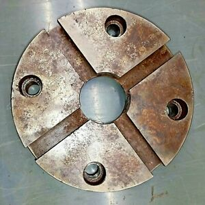 6 5 T Slotted Face Plate For Lathe Machinist Tooling