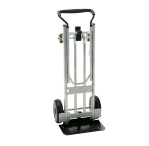 Cosco 3 in 1 Folding Series Hand Truck Cart Platform Cart With Flat free Wheel