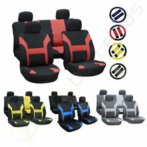 For 2001 2002 2003 2016 Toyota Prius Car Auto Seat Covers W Steering Wheel Cover