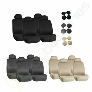 For 1996 1997 1998 1999 2018 Toyota Rav4 Black Beige Gray Car Auto Seat Covers