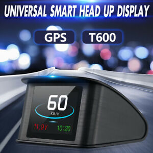 Smart Vehicle Digital Hud Head Up Display Gbs Obd2 For Car Speed Projector F0g6c