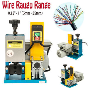 New Powered Electric Wire Stripping Machine Metal Tool Scrap Cable Stripper 110v