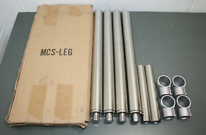4 Replacement Commercial Sink Leg Kit Mcs leg 1 5 8 Od Stainless Steel