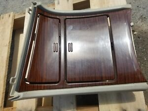 02 Only Cadillac Escalade Lower Bezel Center Console Cup Holder Panel Oem
