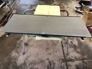 2002 2013 Chevy Avalanche Escalade Ext Hard Tonneau Top Bed Cover Gray Section
