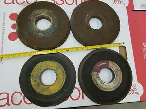 4qty Norton Tool Pro Surface Grinder Grinding Wheel 9 10 Dia 3 Arbor 1