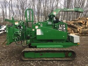 Brush Bandit 1490xp Track Chipper W only 2200 Hours 2611