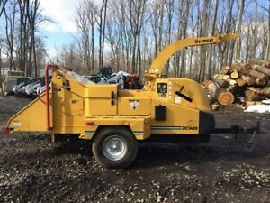 Vermeer Bc1400xl With Only 1401 Hours 2612