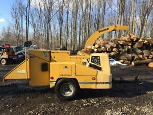 Vermeer Bc1000xl With Only 716 Original Hours 2613