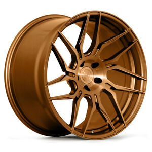 20 Rohana Rfx7 Bronze Forged Concave Wheels Rims Fits Ford Mustang Gt Gt500