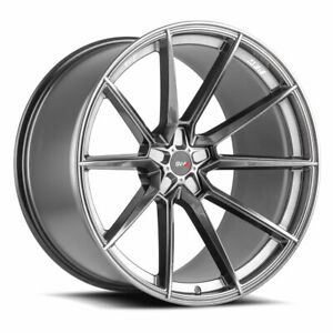 22 Savini Sv F4 Graphite Forged Concave Wheels Rims Fits Chrysler 300 300c 300s