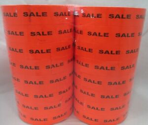 16 000 Monarch Compatible Sale Red Labels For Monarch 1155 1156 1170 Price Guns