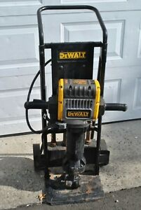 Dewalt D25980 Electric Demolition Demo Jack Hammer Pavement Breaker Cart chisels
