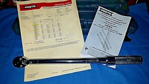 new Proto 3 8 Drive Ratcheting Head Micrometer Torque Wrench J6012c