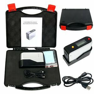 Etb 0686 Gloss Meter Tester For Paint Granite Woodware Test Self calibration