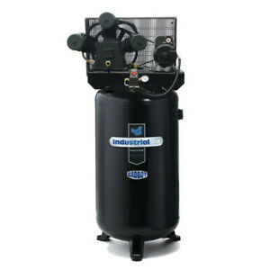 Industrial Air 5 7 Hp 230v 80 Gal Hi flo Air Compressor Ila5148080 New