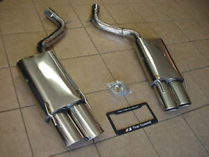 Top Speed Pro 1 Axle Back Exhaust For 2007 10 Mercedes Benz W221 S500 S550 S600