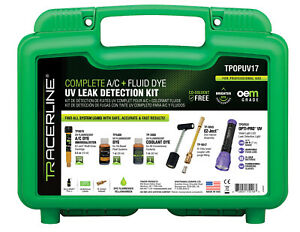 Tracer Products Tpopuv17 Complete A c And Fluid Dye Uv Leak Detection Kit
