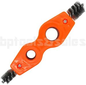 4 In 1 Wire Brush Battery Post Cleaning Tool Plumbers Copper Pipe Cleaner