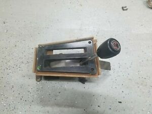 1970 To 81 Firebird Trans Am Auto Shifter Knob And Button 3spd Automatic Floor