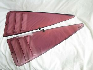Genuine Nissan Jdm Oem Kouki 180sx Hatchback Rear Quarter Window 3d Shark Grills