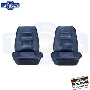 1969 Camaro Standard Front Bucket Pre Assembled Seats Pair New Pui