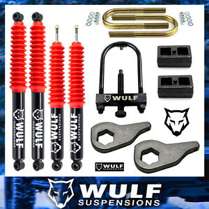 3 Front 2 Rear Leveling Lift Kit 2002 2005 Dodge Ram 1500 4wd 4x4 Shocks tool
