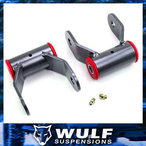1 5 Rear Shackle Leveling Lift Kit 2004 2014 Ford F150 F 150 4x4 4wd 2wd
