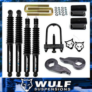 3 Full Lift Kit 2001 2010 Chevy Silverado Gmc Sierra 2500 3500 Hd Shocks Tool