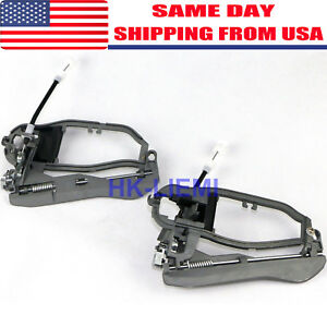 2x Door Handle Carriers For Bmw X5 E53 2000 2006 Front Left And Right Side