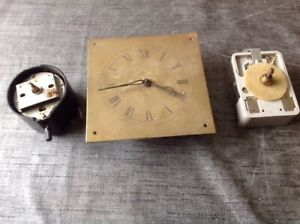 Vintage Smiths Clock Movements Parts Battery And Electric Spares Untested