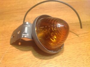 Nos Amber S m No 25 Clearance Lamp Marker Light Vintage Truck Travel Trailer
