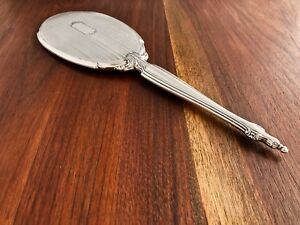 Webster Co Sterling Silver Long Handled Hand Mirror No Monogram